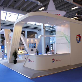 Exhibition Stand Installation : Newcom ⇒ exhibition stand design contractor builder
