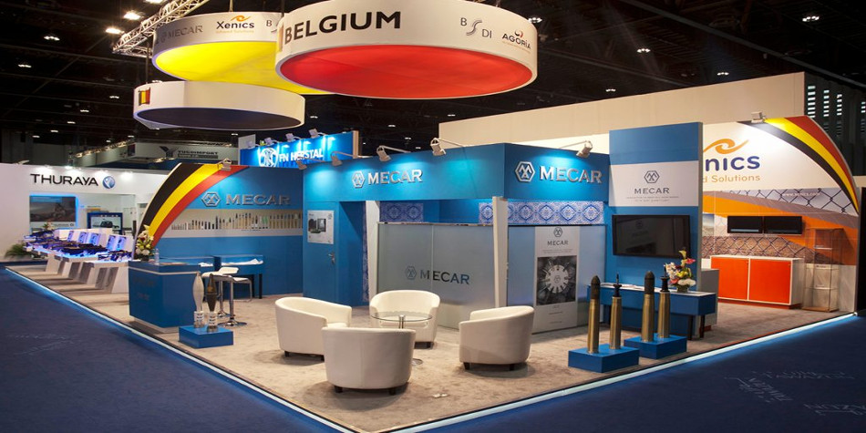 Stand design in Belgium