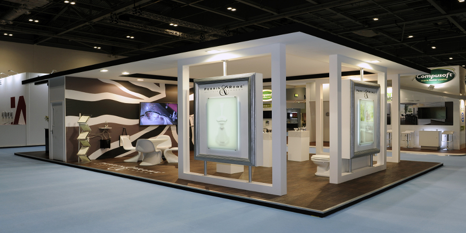 Stand design in United Kingdom