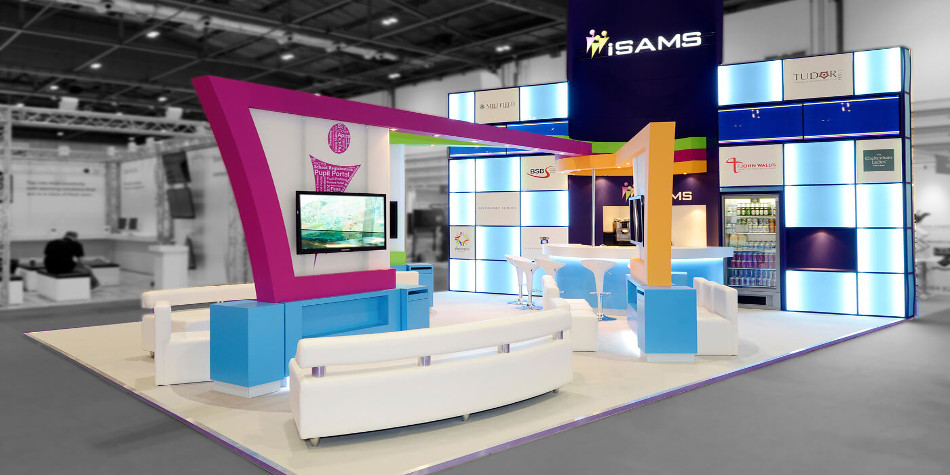 Stand design in Dubai