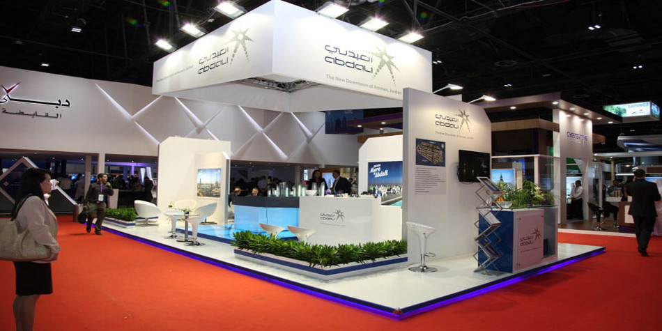 Stand design in Abu dahbi