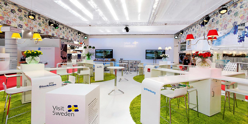 stand design in Stockholm